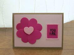 Handcrafted Cards from My Pretty Creativity  www.facebook.com/MyPrettyCreativity #valentines #love #hearts #sparkle #youandme #prettyinpink #greetingcards #handmade #handcrafted #cards