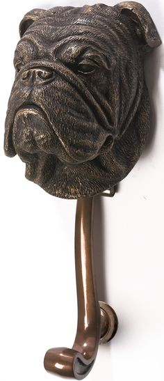 antique bulldog door knocker. http://www.londonlocks.com/