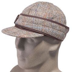 Stormy Kromer Women's USA-Made Harris Tweed Flannel-Lined Wool Cap 503