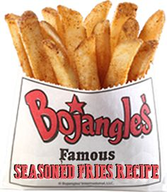 Now you can make Bojangle's Seasoned Fries at Home. Who has the best french fries? If you live in the south many people would argue Boj...