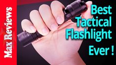 Best Tactical Flashlight 2017?  Top 3 Brightest Tactical Flashlights Review https://youtu.be/qbYtKNGGPww
