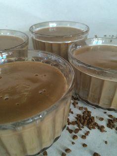 crèmes dessert au café façon Danette