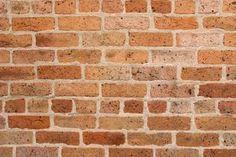 Brick walls have a somewhat warmer feel than cinder block walls.