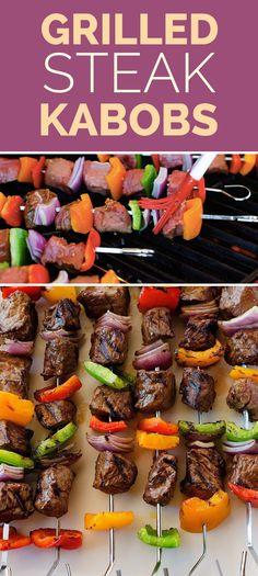 Grilled Steak Kabobs