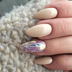 Gel polish First Lady + Mirror Effect Mermaid by Daria Korzeniowska, Indigo…