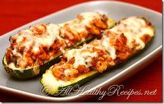 Italian Zucchini Boats Recipe
