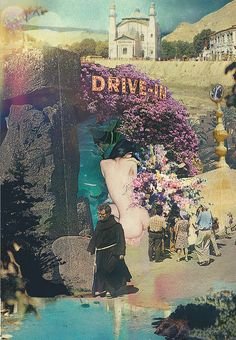 Drive-In by Vinyl Williams, via Flickr