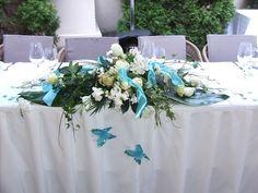 türkiz esküvő - Google keresés Table Decorations, Flowers, Wedding, Furniture, Google, Home Decor, Valentines Day Weddings, Decoration Home, Room Decor