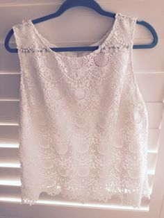 Lilly for Target eyelet/lace top