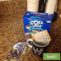 Take a picture enjoying your favorite flavor Pop-Tart in a creative way like dunking it in coffee or as an ice cream topping! http://earn.loot-app.com/#contest/aypmVblgld