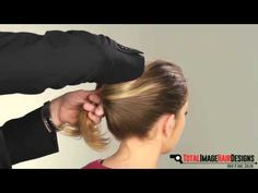 Twist bun hairstyle is an easy way to keep your hair to looking neat anytime  http://totalimagehairdesigns.com/twist-bun-hairstyle/