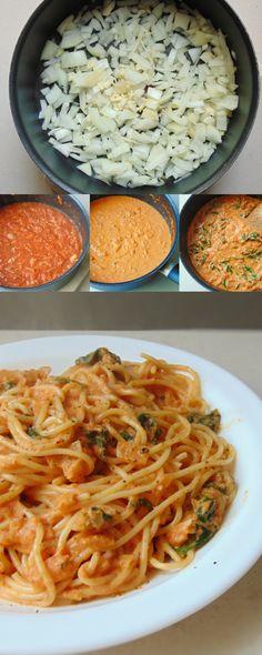 Pasta c/salsa d tomate