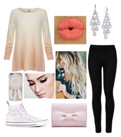 """""""Winter Mall Day With The Pack"""" by jessstilinski24 ❤ liked on Polyvore featuring Joie, Wolford, Converse and Carolee"""