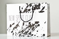 Paper bag for New Sport Club / Giustacchini Packaging