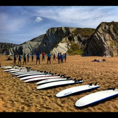 Playa Atxabiribil / Arrietara Hondartza en Sopelana, País Vasco