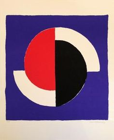 Sonia DELAUNAY - Composition, Lithographie