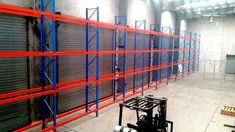 """""""Selective Pallet Racking"""" It provides direct access to all pallets for accessibility and good stock rotation. Pallet Racking, Pallet Storage, Racking System, Best Stocks, Can Design, Cairns, Storage Solutions, Pallets, Shelving"""