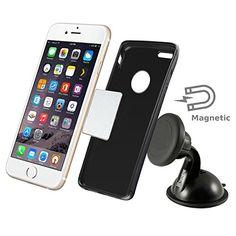 TecHERE Magneto - Supporto universale magnetico per auto con ventosa - Porta telefono / cellulare / smartphone per iPhone 6, 6 plus, 5 5s 5c, Samsung Galaxy, Nexus, HTC, Nokia Lumia, Sony Xperia, LG - Snodo con regolazione a 360° - Garanzia 100% soddisfatti o rimborsati - Colore Nero TecHERE http://www.amazon.it/dp/B00QW34DG6/ref=cm_sw_r_pi_dp_OlrNub0DPWFPJ