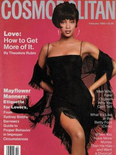 25 of Helen Gurley Brown's most iconic #Cosmo covers - Naomi Campbell