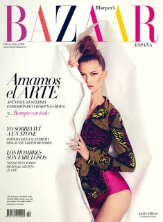 Colours! I LOVE Bazaar. They always have the latest designer fashions and the best new fragrances in the mag!