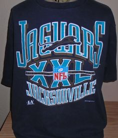 FREE Shipping vintage 1993 Jacksonville Jaguars football t shirt Large by vintagerhino247 on Etsy