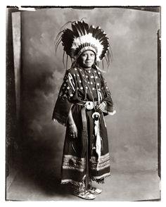 Ute Indian Girl, The Pennington Studio, Durango, Colorado