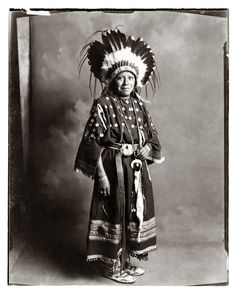 Ute Indian Girl, The Pennington Studio, Durango, Colorado