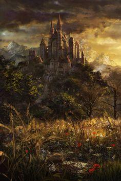 Le Château Vanaguard, localisé à l'extrémité ouest de Crowlands.