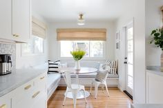 Photography: http://www.amybartlam.com | Read More: https://www.stylemepretty.com/living/2017/05/31/a-modern-dream-kitchen-with-spanish-influences/