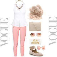 <3 by motivefashion on Polyvore featuring polyvore fashion style Miss Selfridge SHOUROUK Botto Giuseppe Kate Spade Chloé H&M