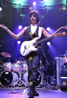 Jeff Beck performs at the Royal Albert Hall on October 26 2010 in London