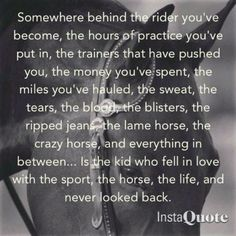 I owe the rider I am to my trainer and the difficult horses she put me on.