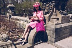 From the Closet - Pink Etiquette, photos by John May, styled by Delcey Fleming