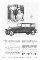 Packard Motor Cars 1927 Ad Picture