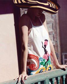 mexican embroidery via prada