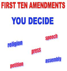 Kids should know what the ten amendments of the Constitution are and why they're so important. Situations they'll relate to are included  as well as other other activities. Priced item.