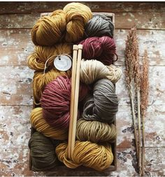 Still working on whether to dye some more colours ✨each dye bath is unique, so many variables seasonal conditions can effect the concentration of colour in flowers and leaves, volume of plant matter to fibre, temperature and length of time in the dye bath, mordant or not etc etc often natural dying is a pleasant surprise www.timberandtwine.co