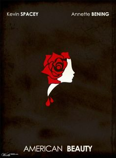 American Beauty - Minimalist Movie Poster