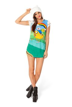 Jake and Finn Rainbow GFT by Black Milk Clothing $60AUD