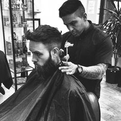 Yes Dem! Cheers for the trim today mate, always good seeing you and the cutthroat crew @cutthroatdeme 😙👌 x