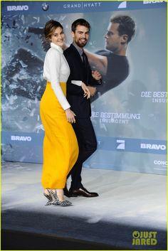 Shailene Woodley & Theo James Bring 'Insurgent' To Berlin | shailene woodley theo james insurgent germany premiere 06 - Photo