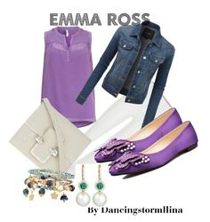 """Emma Ross:Jessie"" by dancingstormllina ❤ liked on Polyvore featuring LE3NO, Alexander McQueen, Accessorize and Eli Jewels"