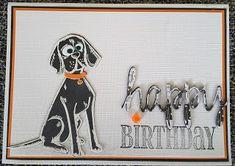 Focus on Papercraft: Crazy Dog Birthday card