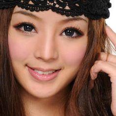 Doe eyes shape makeup Eye Shape Makeup, Bigger Eyes, Doe Eyes, Color Lenses, Gray Eyes, Colored Contacts, Eye Shapes, Makeup Storage, Beautiful Eyes