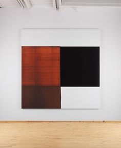 Exposed Painting Red Oxide (2013) - Callum Innes