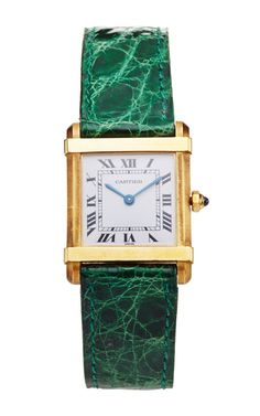 18K Yellow Gold Vintage Cartier Chirrse by LSC Design Estate Jewelry for Preorder on Moda Operandi