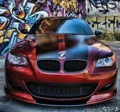 BMW E60 M5 bronze and black