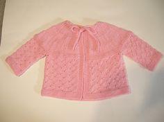 Ravelry: Twinkle, vintage baby cardigan free pattern by Guro