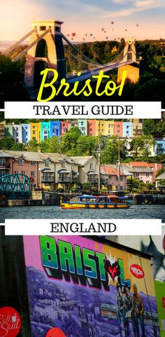 Discover the best that Bristol, England has to offer in this city guide. In this guide you'll find the top things to do in Bristol, how to get around, as well as where to go on day trips to some of England's best places. Europe Destinations, Europe Travel Guide, France Travel, Travel Guides, Travel Advice, European Vacation, European Travel, Bristol England, Bristol Uk