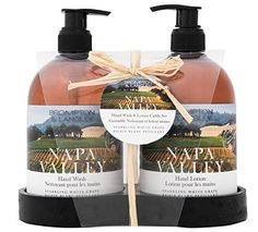 Brompton & Langley Napa Valley Exotic Retreats Hand Wash and Lotion Caddy Gift Set (Pack of 6)
